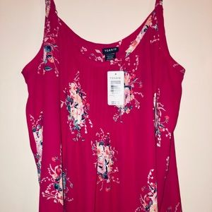 Pink tank top from Torrid